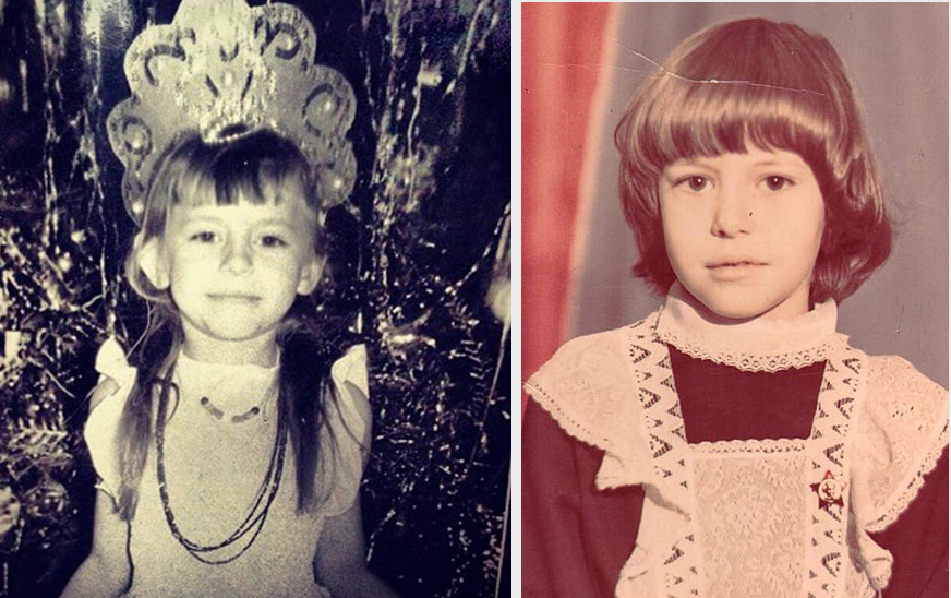 оксана лаврентьева в детстве