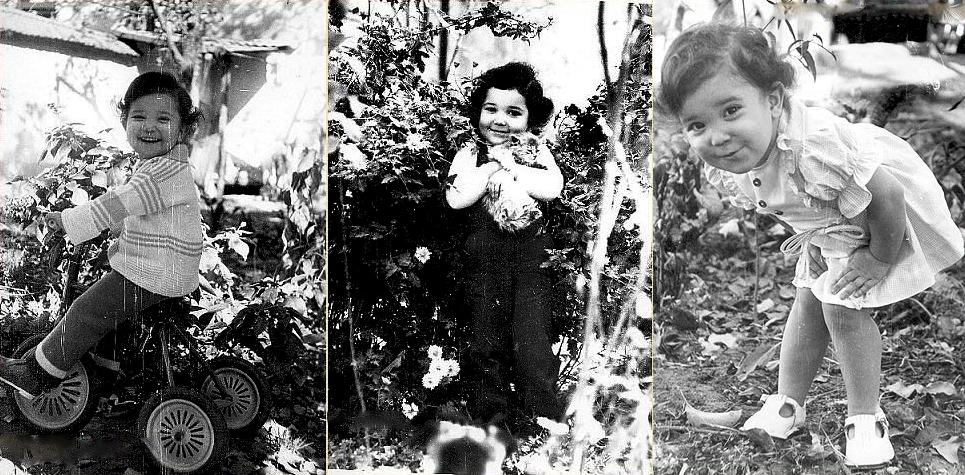 Райхон Ганиева в детстве