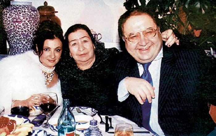 винер ирина и Алишер Усманов свадьба
