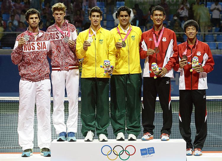 карен хачанов на олимпиаде 2014