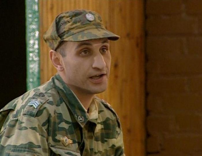 Юрий Сафаров в сериале солдаты