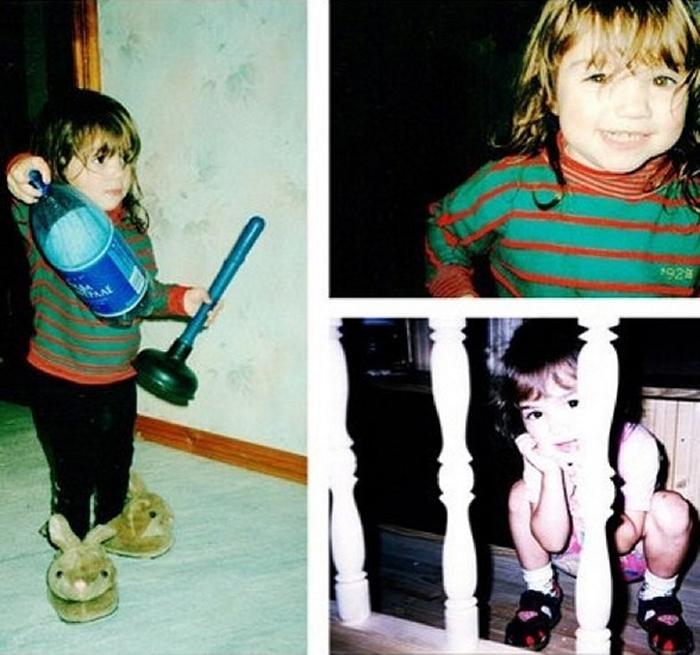 Евгения Медведева в детстве
