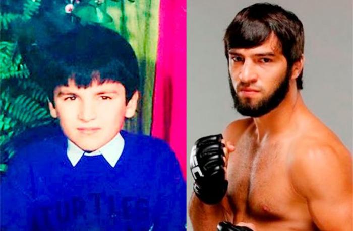Зубайра Тухугов в детстве