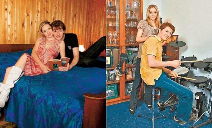 Андрей Сипин и Мария Аниканова