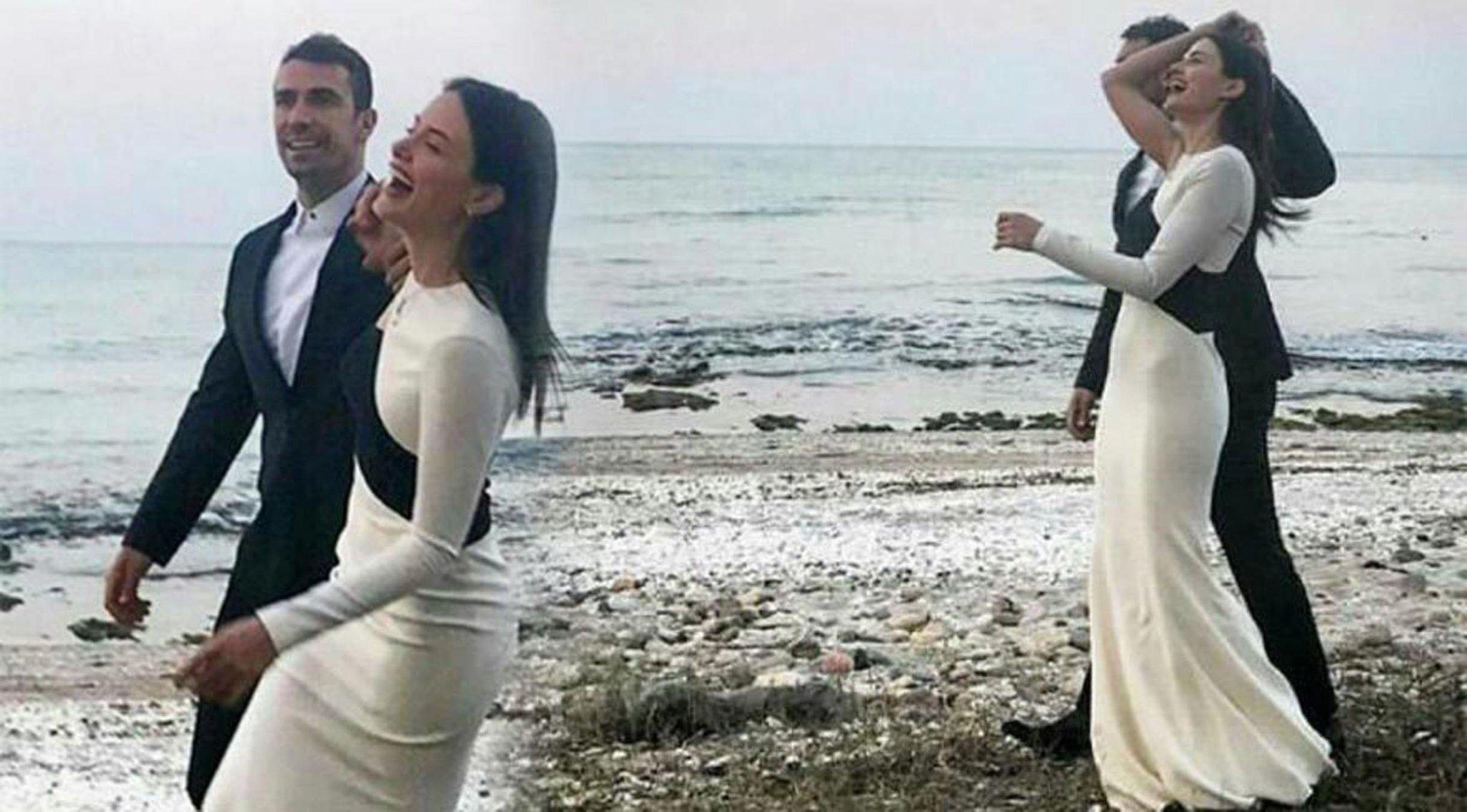 Ибрагим Челиккол и Михрам Мутлу свадьба