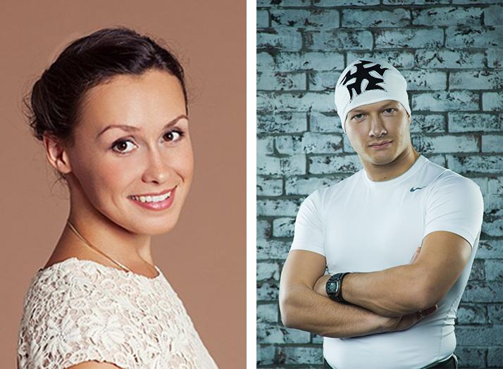 Никита Панфилов с Верой Бабенко