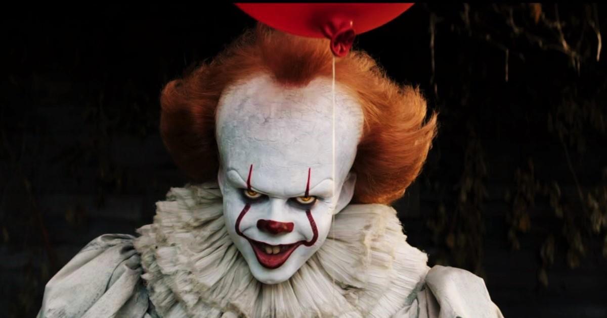 Улыбка клоуна Пеннивайза