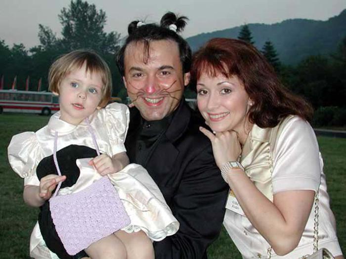 Ольга Кабо и Эдуард Василишин
