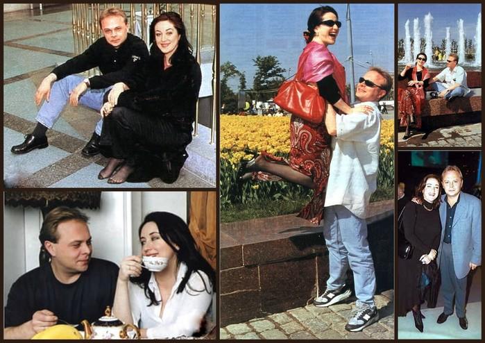 Тамара Гвердцители и Сергей Амбатьелло