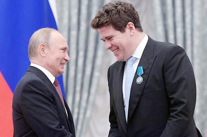 Денис Мацуев и путин