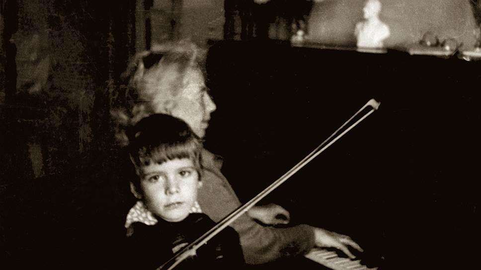 Денис Мацуев детские фото