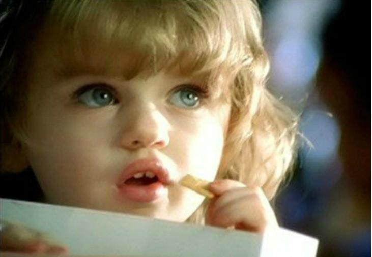 Джои Кинг в рекламе сухих завтраков