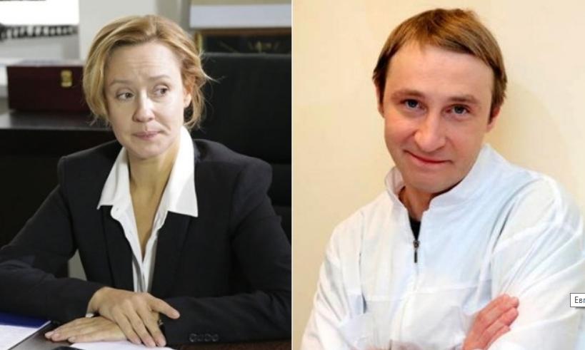 Евгения Дмитриева и Андрей Кайков