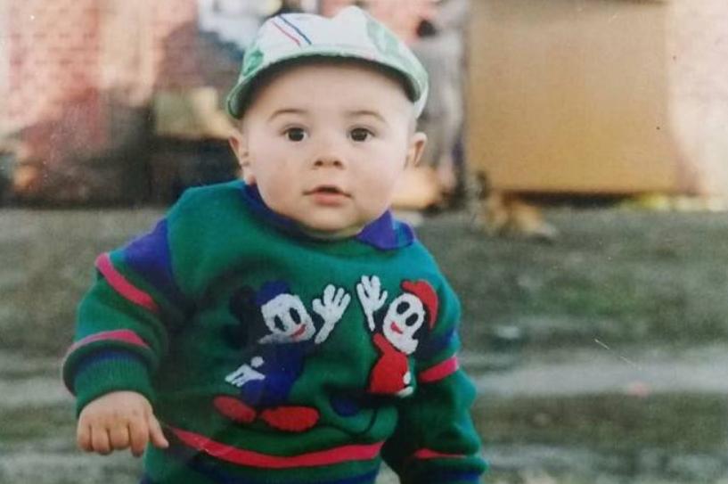 Наваи Бакиров в детстве