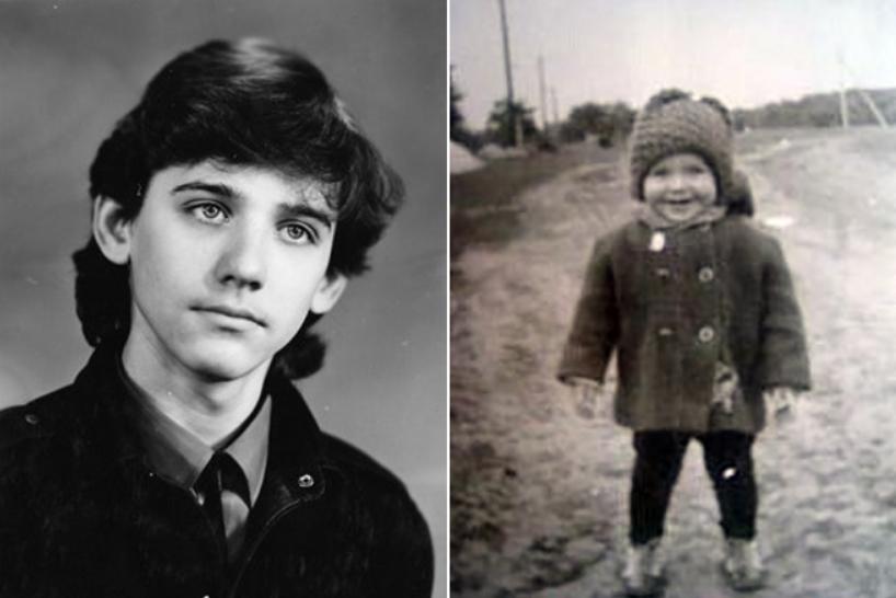 Юрий Батурин в детстве и юности