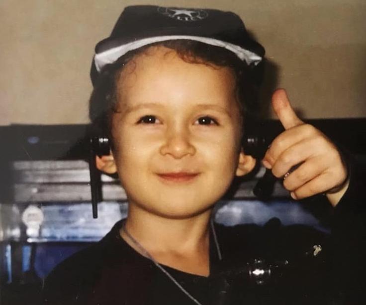 Алишер Моргенштерн в детстве