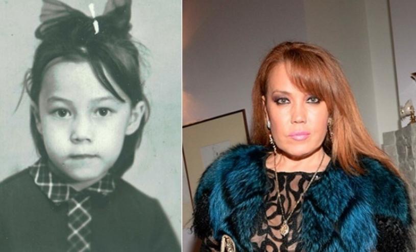 Азиза Мухамедова в детстве