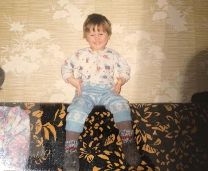 Руслан Тушенцов в детстве