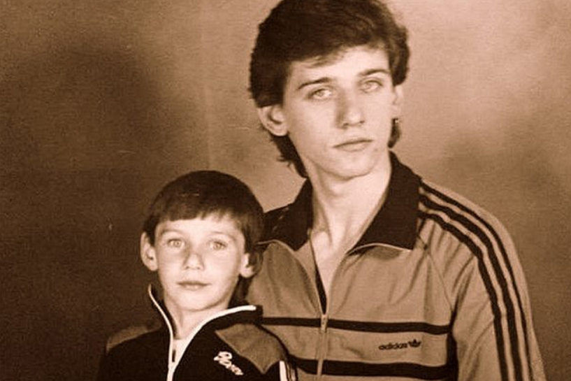 Юрий Батурин с братом
