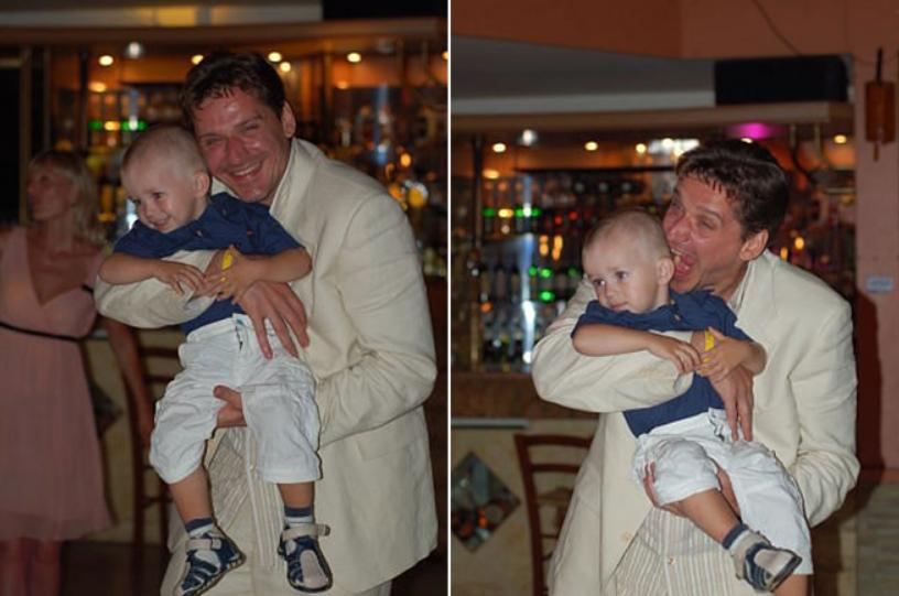 Юрий Батурин с сыном