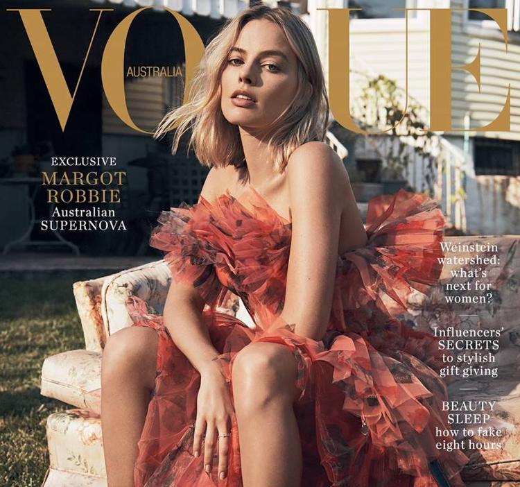 актриса Марго Робби на обложке журнала