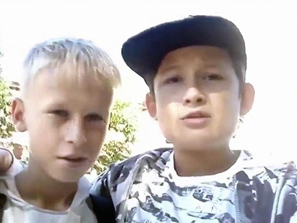Алишер Моргенштерн с другом