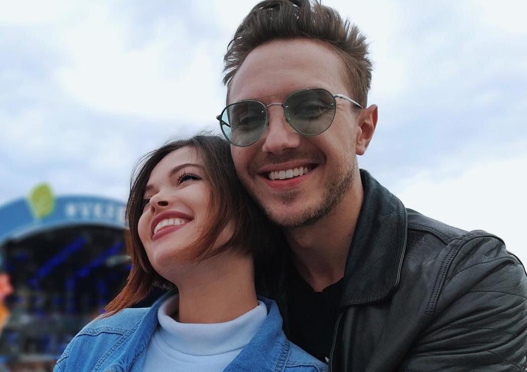 Натали Ящук с мужем
