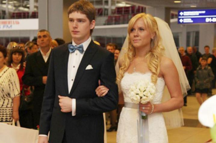 Свадьба Евгения Кузнецова и Анастасии Зиновьевой