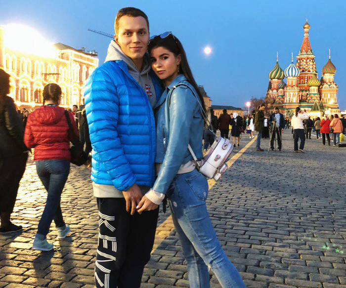 Артём Тарасов и Яна Ханикерян