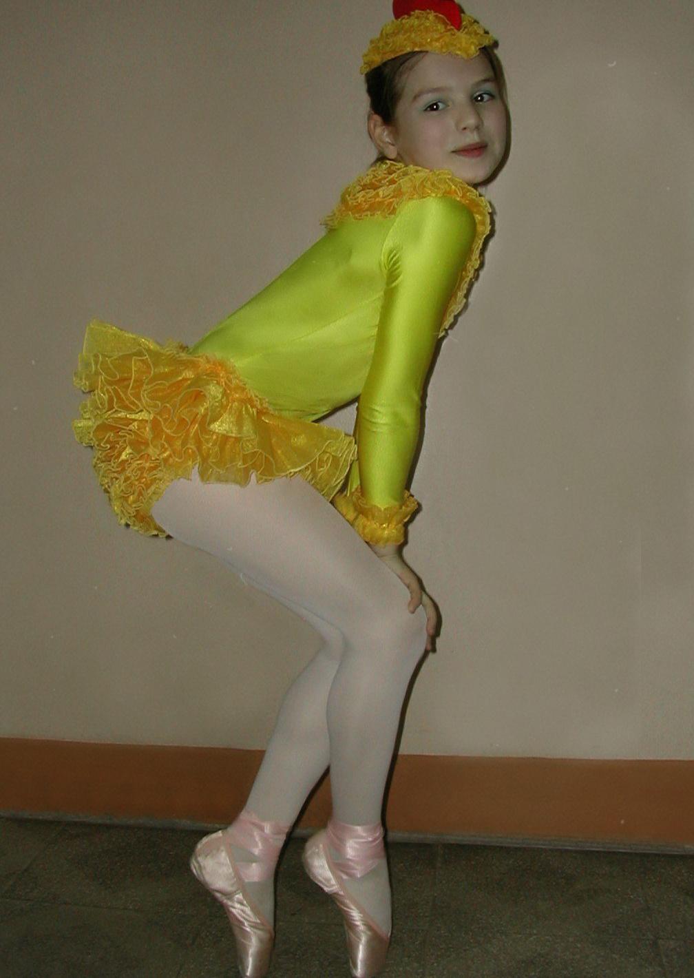 Люся Чеботина балет