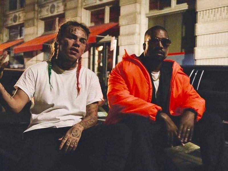 6ix9ine с Kanye West
