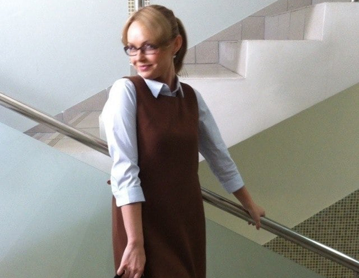 Юлия Подозерова в школе