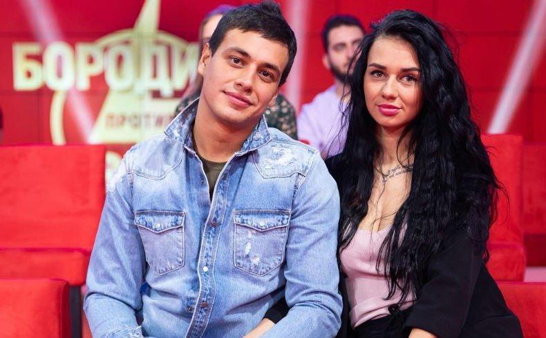 Юлия Романова с Даниилом Сахновым