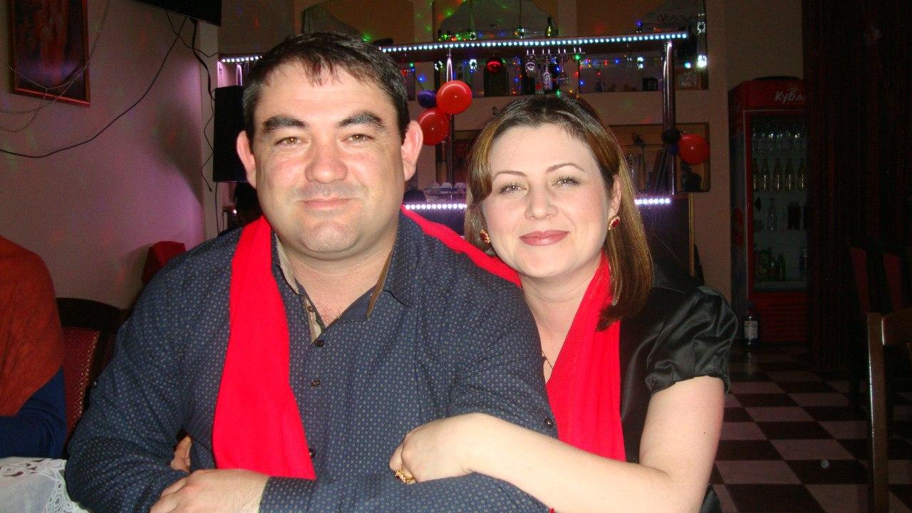 аслан кятов с женой