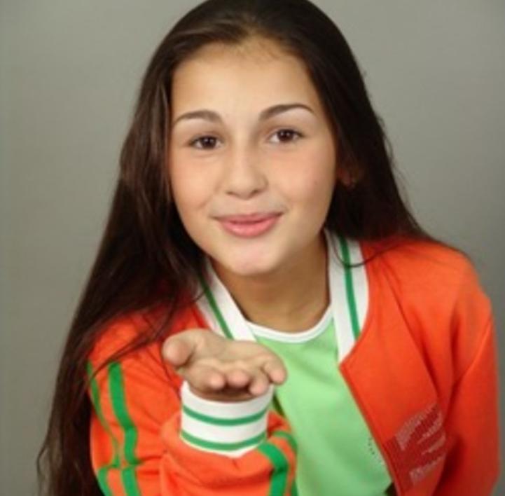 Alina Eremia детские фото