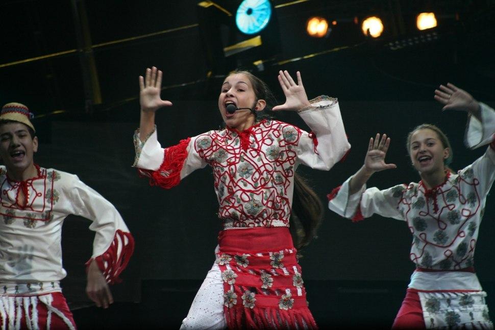 Alina Eremia Детское Евровидение