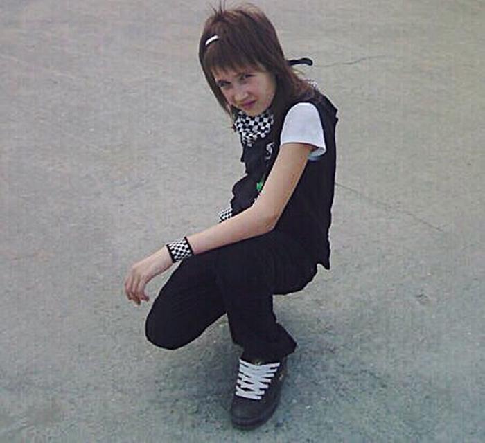 Клава Кока в детстве
