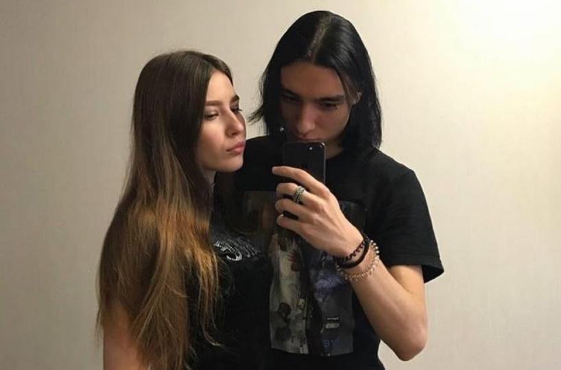 Flesh и его девушка Аделина Климова