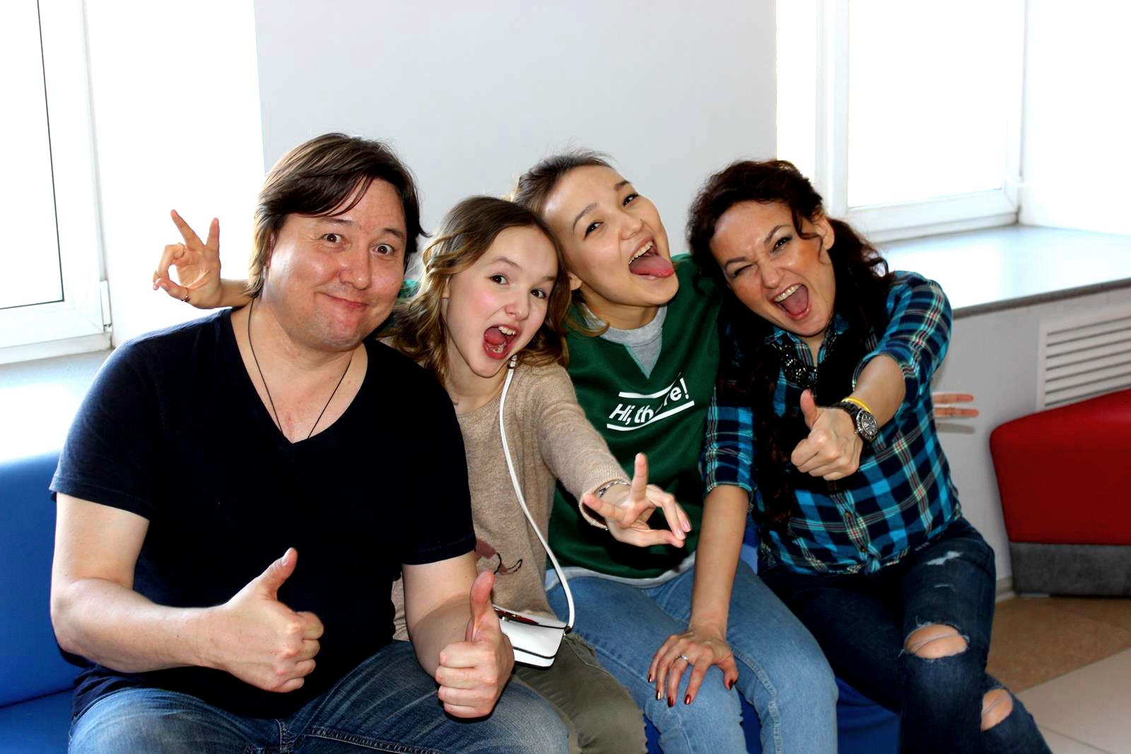 арина данилова с родителями