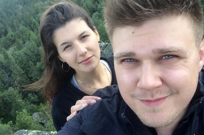 Кирилл Нечаев и его девушка Галина Виноградова