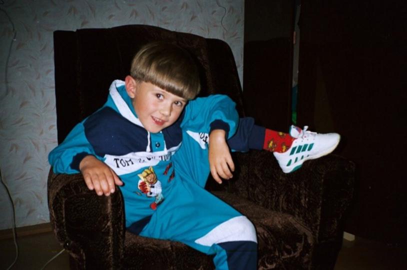 Кирилл Нечаев в детстве