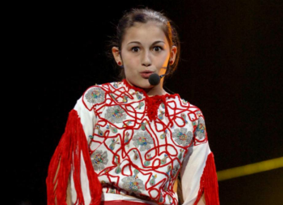 Alina Eremia в детстве