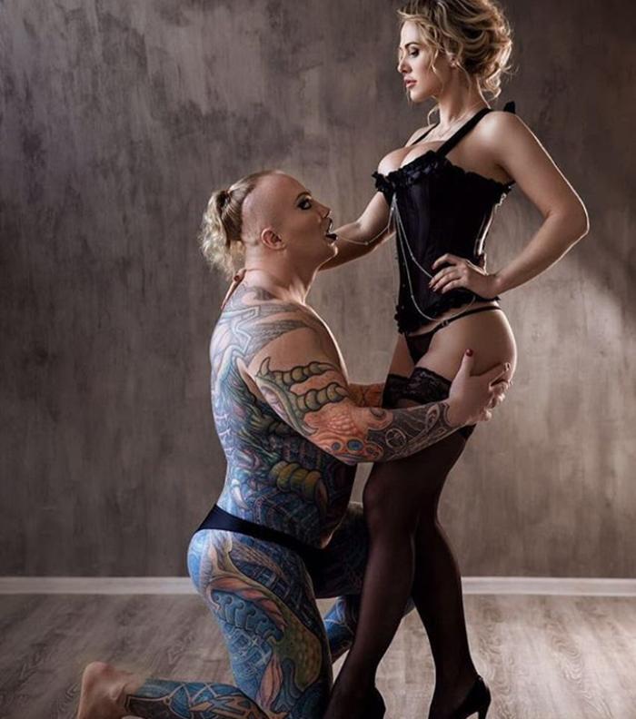 александр шпак с женой