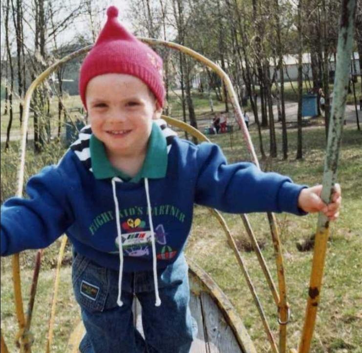 блогер андрей борисов в детстве