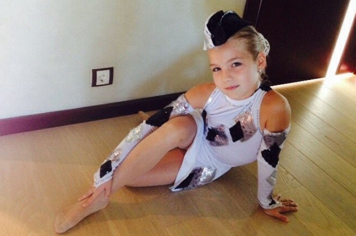 Софа Купер в детстве