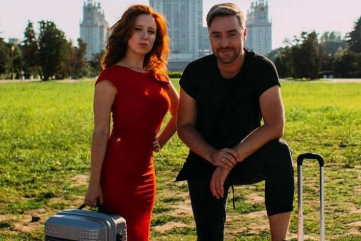 Телеведущие Ирина Шихман и Андрей Самарцев