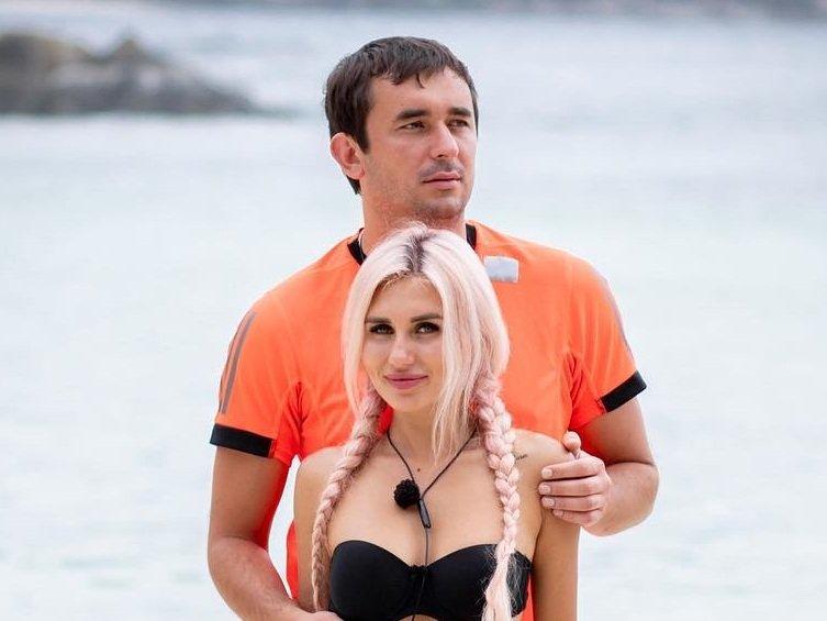 Райсон и Шабарин на острове