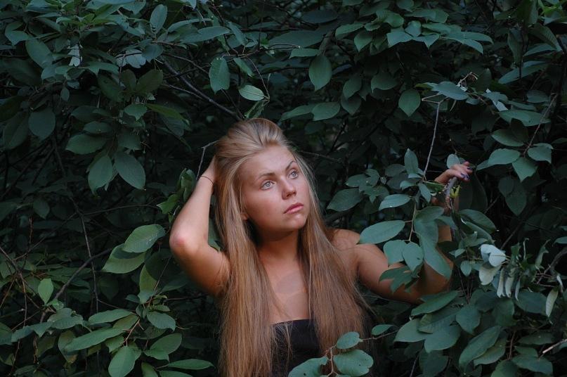 Карина Лазарьянц в молодости
