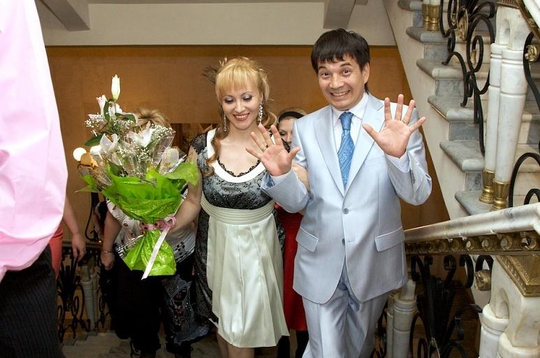 Азалия Рашитова с мужем