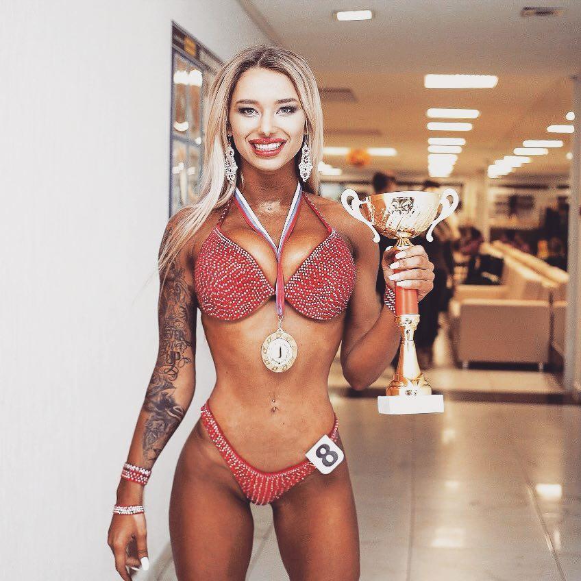 Диана Дроган мисс фитнес